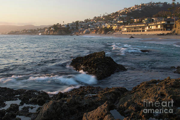 Photograph - Sunset Over Laguna Beach   by Vincent Bonafede