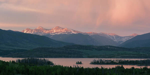Wall Art - Photograph - Sunset Over Lake Dillon by Aaron Spong