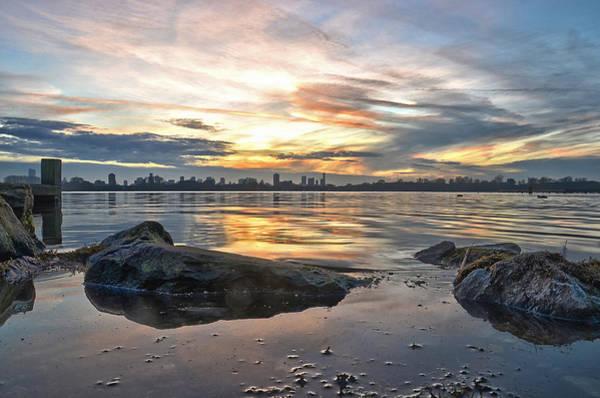 Sunset Over Lake Kralingen  Art Print