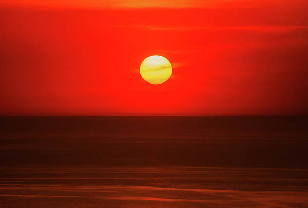 Photograph - Sunset Over Lake Michigan by Dan Sproul