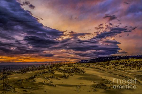 Wall Art - Photograph - Sunset Over Lake Michigan by Nick Zelinsky