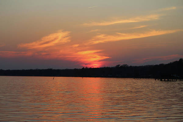 Photograph - Sunset Over Lake Waccamaw 4 by Cynthia Guinn
