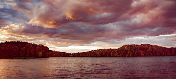 Photograph - Sunset Over Libery Reservoir by T Brian Jones