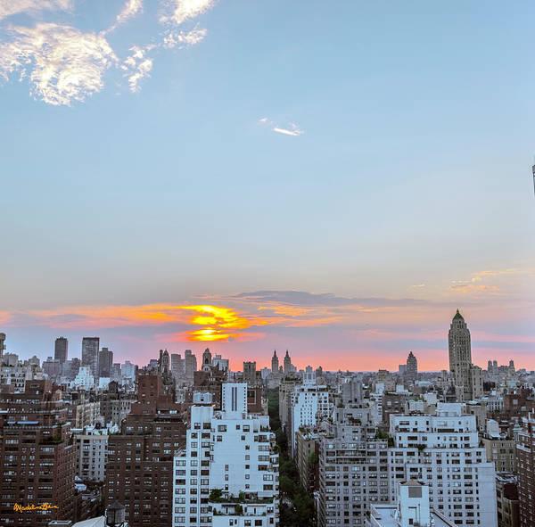 Wall Art - Photograph - Sunset Over Manhattan by Madeline Ellis