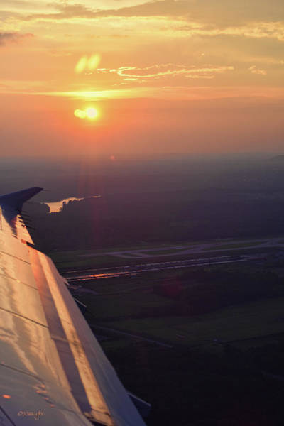 Photograph - Sunset Over Ohio by Paulette B Wright