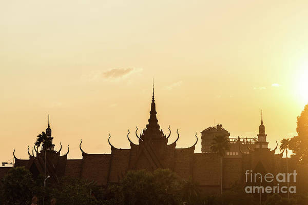 Photograph - Sunset Over Phnom Penh by Didier Marti