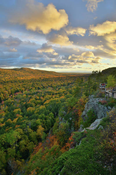 Photograph - Sunset Over Porcupine Mountains I by Ray Mathis