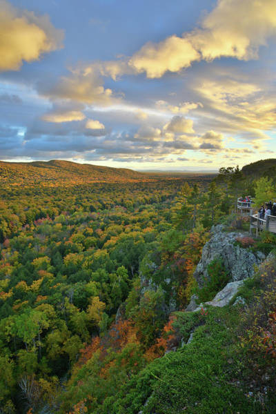 Photograph - Sunset Over Porcupine Mountains Iv by Ray Mathis