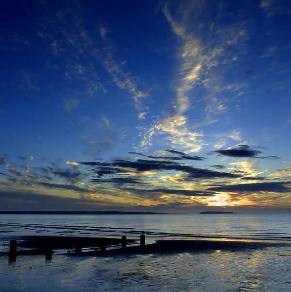 Sunset Over Puffin Island Art Print