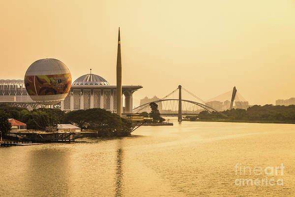 Photograph - Sunset Over Putrajaya In Malaysia by Didier Marti