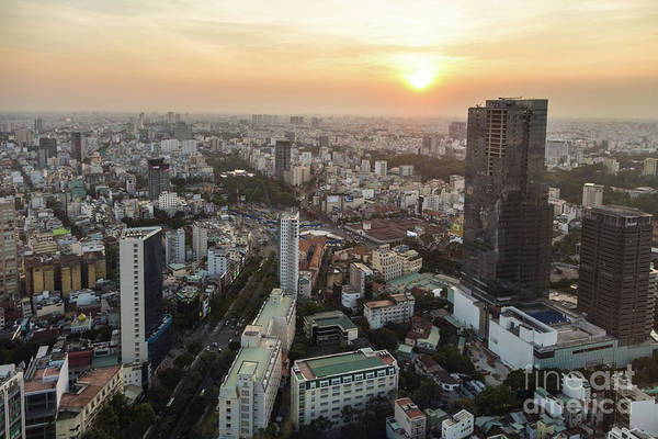 Photograph - Sunset Over Saigon by Didier Marti