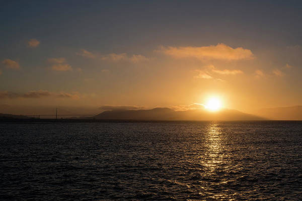 Photograph - Sunset Over San Francisco Ca by Toby McGuire