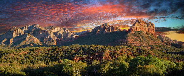 Photograph - Sunset Over Sedona by Lynn Bauer