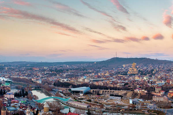Photograph - Sunset Over Tbilisi by Fabrizio Troiani