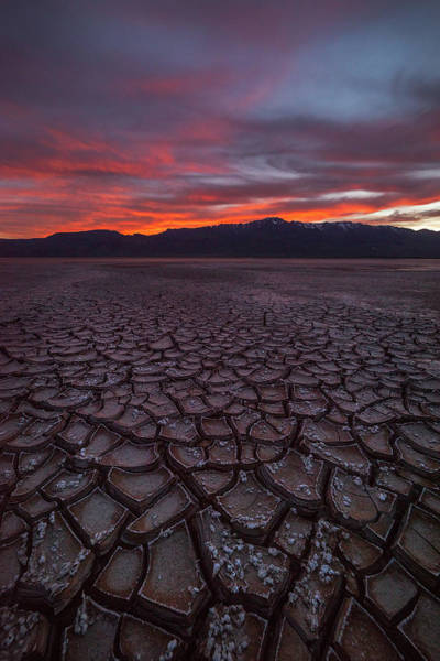 Wall Art - Photograph - Sunset Over The Alvord Desert by Gary Randall