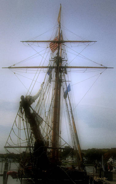 Photograph - Sunset Over The Amistad by RC DeWinter