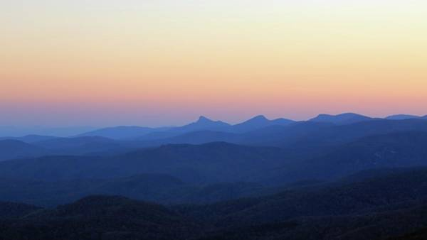 Photograph - Sunset Over The Appalachians by M C Hood