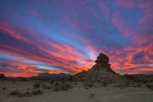 Chisos Mountains Photograph - Sunset Over The Chisos Mountains In Big Bend National Park 1 by Rob Greebon