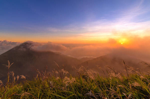 Wall Art - Photograph - Sunset Over The Clouds by Malcolm Clint Bagnol
