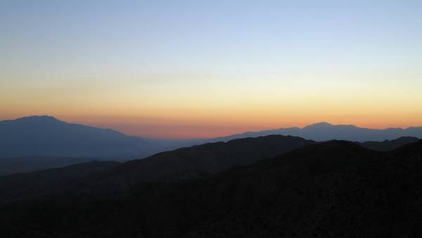 Photograph - Sunset Over The Coachella Valley by M C Hood