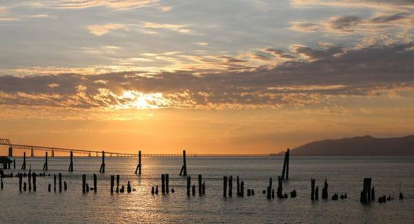 Photograph - Sunset Over The Columbia River - 4 by Christy Pooschke