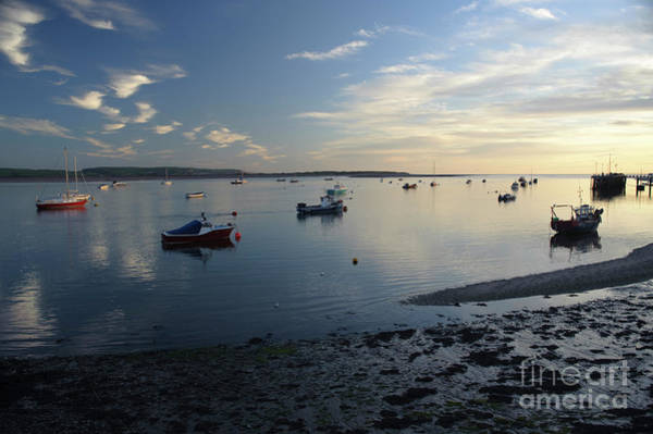 Photograph - Sunset Over The Dyfi Estuary At Aberdyfi Wales Uk by Keith Morris