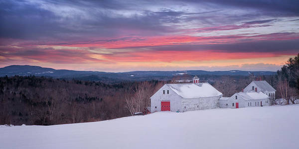 Photograph - Sunset Over The Farm by Darylann Leonard Photography