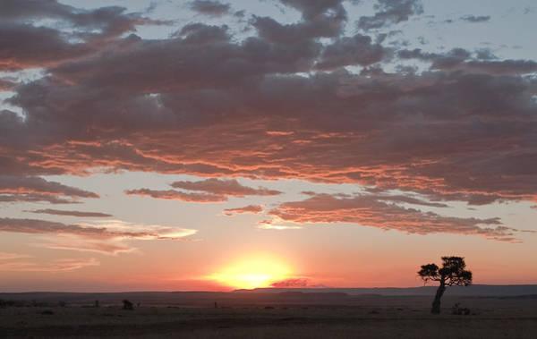 Sunset Over The Mara Art Print