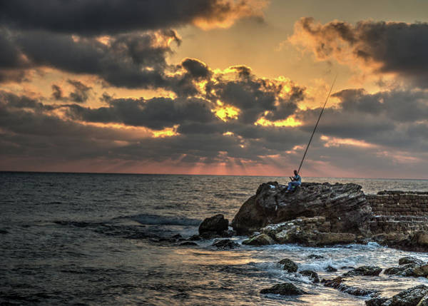 Photograph - Sunset Over The Mediterranean 1 by Dimitry Papkov
