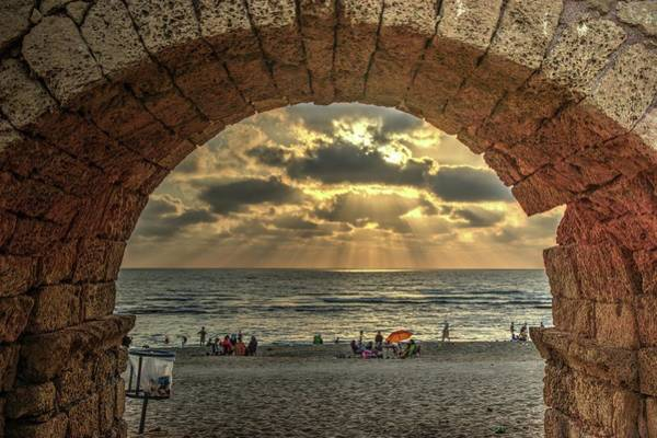 Photograph - Sunset Over The Mediterranean 4 by Dimitry Papkov