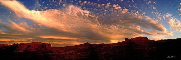 Photograph - Sunset Over The Moab Rim 2 by Dan Norris
