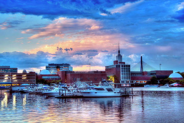 Wall Art - Photograph - Sunset Over The Museum Of Science - Boston by Joann Vitali