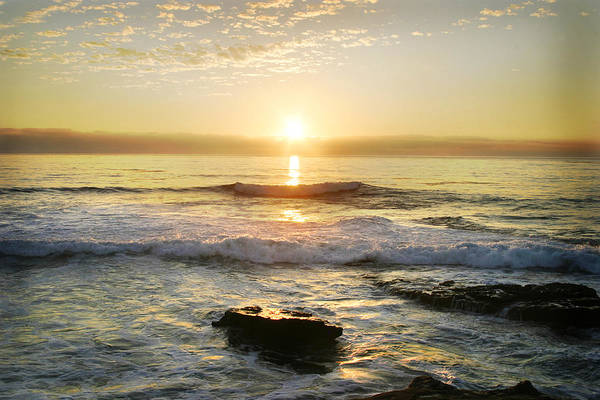 Photograph - Sunset Over The Ocean by Anthony Jones