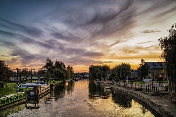 Photograph - Sunset Over The Ouse by James Billings