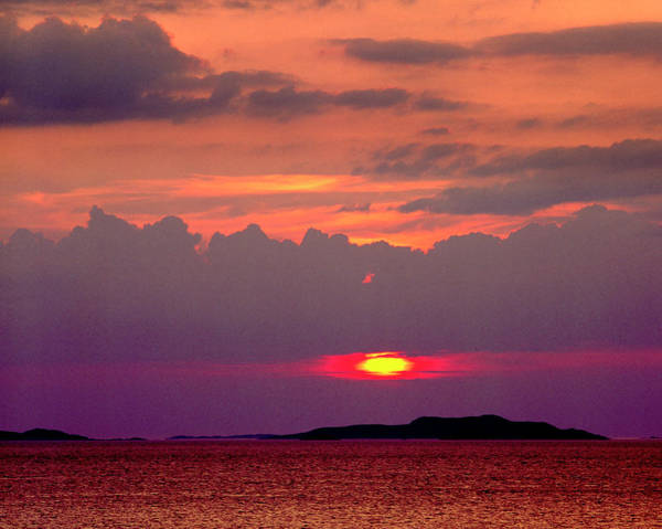 Photograph - Sunset Over The Summer Isles by Peter OReilly