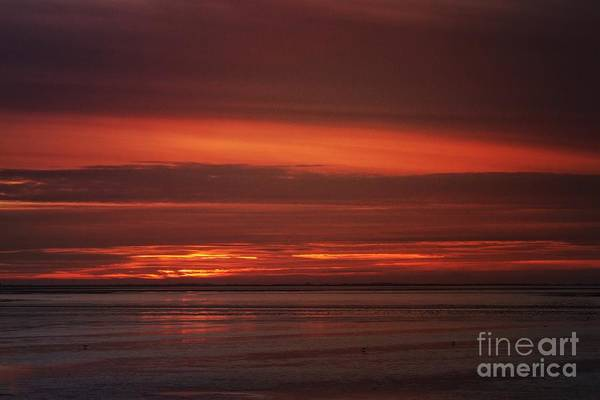 Wall Art - Photograph - Sunset Over The Wash by John Edwards