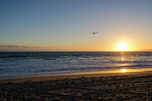 Photograph - Sunset Over Venice Beach Venice Ca by Devin McGuire