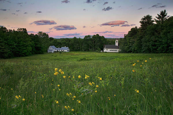 Photograph - Sunset Over Waterford Village by Darylann Leonard Photography