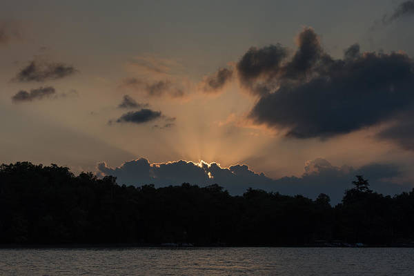 Photograph - Sunset Over Wilderness Point by Gary Eason