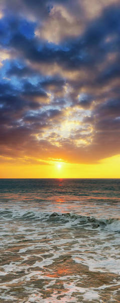 Wall Art - Photograph - Sunset Panorama by Christopher Johnson