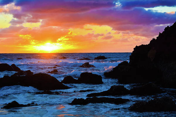 Point Vicente Wall Art - Photograph - Sunset Pelican Cove Los Angeles by Kyle Hanson