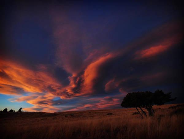 Sunset Plains Art Print