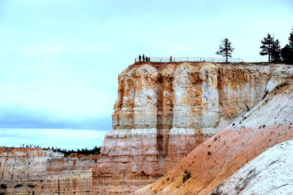 Wall Art - Photograph - Sunset Point In Bryce Canyon by Meeli Sonn