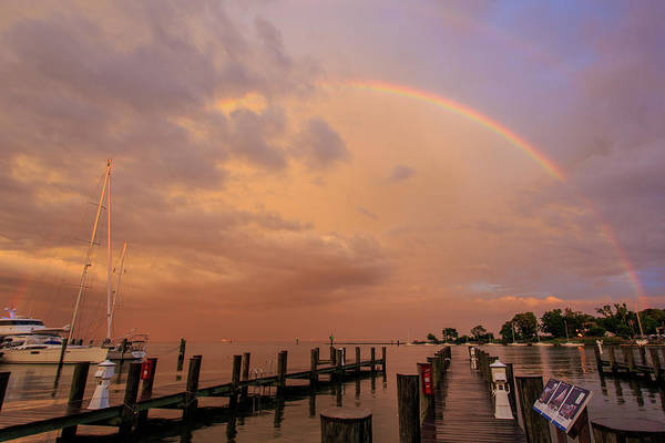 Wall Art - Photograph - Sunset Rainbow by Jennifer Casey