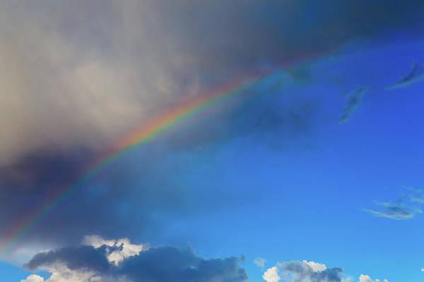 Photograph - Sunset Rainbow by SR Green