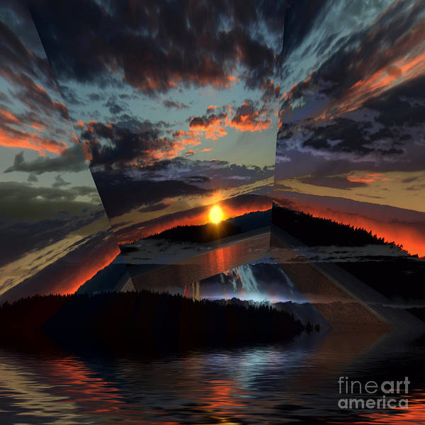Wall Art - Photograph - Sunset Rays 3 by Elaine Hunter