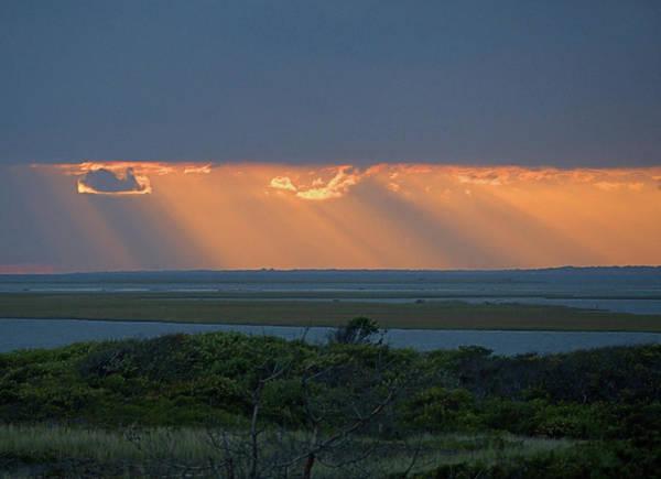 Photograph - Sunset Rays by Newwwman