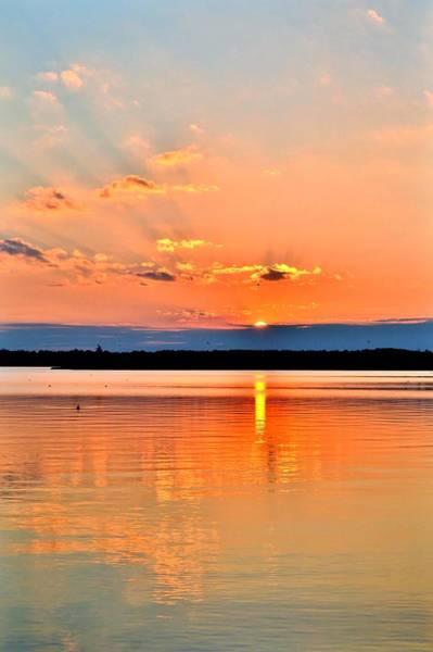 Photograph - Sunset Reflections 2 by Kim Bemis