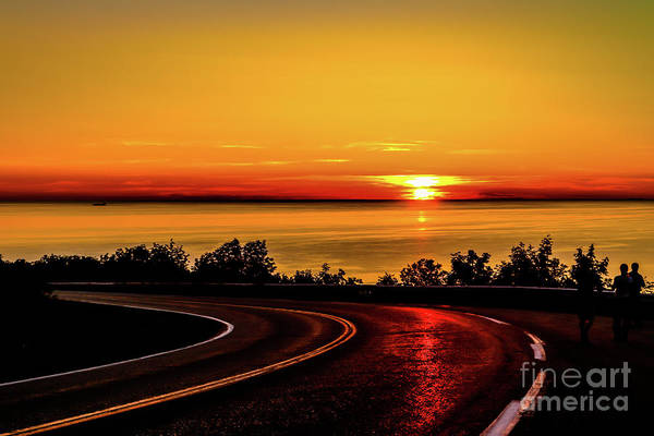 Cabot Trail Photograph - Sunset Reflections1 by Claudia M Photography