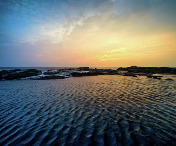 Photograph - Sunset Ripples by Christopher Johnson